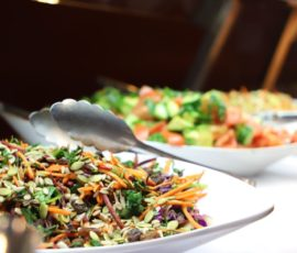 Buffet Lunch-Variety of salads